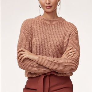 Aritzia Wilfred Chenille Sweater